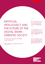 Artificial intelligence and the future of the digital work-oriented society